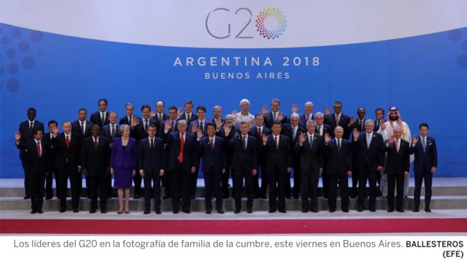 Foto oficial G20